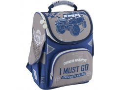 Рюкзак (ранец) школьный каркасный GoPack мод 5001 GO18-5001S-18