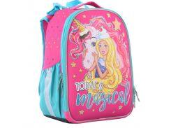 Рюкзак (ранец) школьный каркасный 1 Вересня Yes 555365 Unicorn H-25 35*26*16см