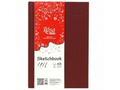 Блокнот для набросков А5 14,8*21см Rosa Studio 100г/м 96л. 16R5016