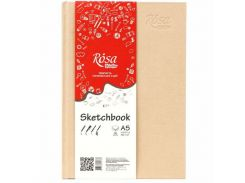 Блокнот для набросков А5 14,8*21см Rosa Studio 100г/м 96л. 16R5017