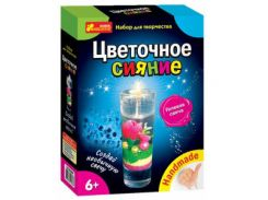 Набор для творчества Creative 3068-01 Гелевая свеча, Цветочное сияние 14100295Р