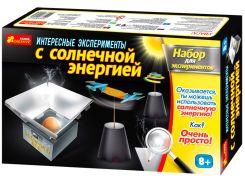 Игра научная Creative 0392 Набор для экспериментов, Интересные опыты с солнечной энергией 12114016Р