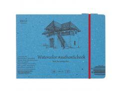 Альбом для акварели Smiltainis В5 Authentic 12л. 280г/м спираль 5AB-12ST
