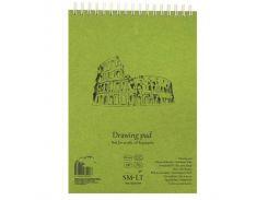 Альбом на спирали Smiltainis для акрила и масла Authentic (Drawing) А3 290г/м2 20л белая бумага 3EB-20TS/OA