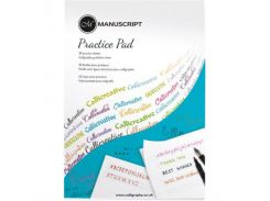 Бумага-склейка Manuscript для каллиграфии Creative Writing Practice Pad 80г/м2 50 л MC312