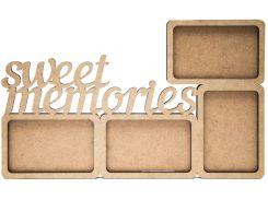 Заготовка для декорирования рамка Rosa Talent (МДФ) Sweet memories 43*27*0,6см 2807020