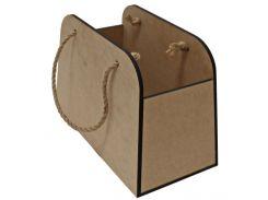 Заготовка для декорирования пакет подарочный Rosa Talent МДФ 30*15*20 28622002