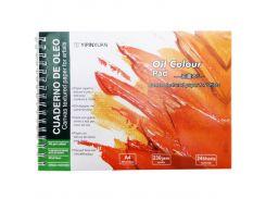 Альбом для масла на пружине А4 24л. Yipin Oil color 5002-4