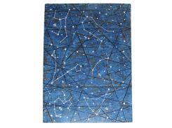 Ежедневник А5 KIRIsketch недатированный картон твердый, Звездное небо 770839