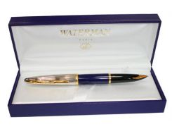 Ручка перьевая WATERMAN Carene Deluxe Black/silver F 11200