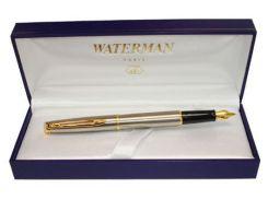 Ручка перьевая WATERMAN Hemisphere S/S GT FP F 12010