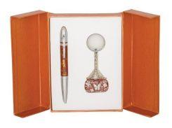 Ручки в наборе Langres Clutch 1шт+брелок коричневый LS.122006-25