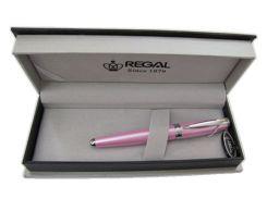 Ручка шариковая REGAL в футляре голубая/розовая R87***.P.B_Голубой