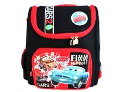 Рюкзак (ранец) 1 Вересня школьный каркасный 551422 Тачки-3 короб