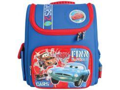 Рюкзак (ранец) 1 Вересня школьный каркасный 551423 Тачки-3 короб