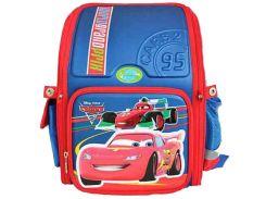 Рюкзак (ранец) 1 Вересня школьный каркасный 551425 Тачки-3 короб