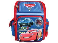Рюкзак (ранец) 1 Вересня школьный каркасный 551431 Тачки-3 короб
