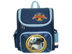 Рюкзак (ранец) 1 Вересня школьный каркасный 551321/551322 Панда Кунг-фу-5 29*13*34см короб