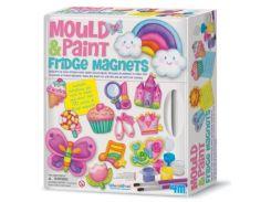Набор для творчества 4M гипс Ассорти магнитов для девочек 3536