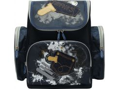 Рюкзак (ранец) школьный каркасный Dr.Kong TB001 Jeans мягкая спинка 35,5*26*13
