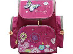 Рюкзак (ранец) школьный каркасный Dr.Kong TB003 Butterfly мягкая спинка 35,5*26*13