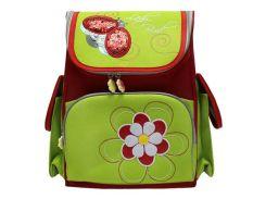 Рюкзак (ранец) школьный каркасный Dr.Kong TA003 Lady Bird мягкая спинка 35,5*26*13