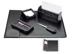 Настольный набор кожзам Optima Cabinet 5 предметов O36476