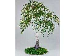 Набор для творчества DankoToys DT БД-01 бисерное дерево Береза