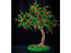 Набор для творчества DankoToys DT БД-04 бисерное дерево Яблоня