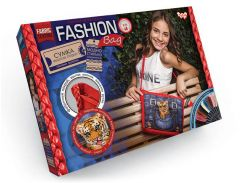 Набор для творчества DankoToys DT FBG-01-03 Сумка вышитая гладью Fashion Bag