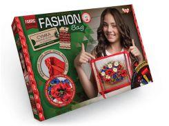 Набор для творчества DankoToys DT FBG-01-02 Сумка вышитая лентами Fashion Bag