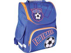 Рюкзак (ранец) 1 Вересня школьный каркасный Smart 553006 Football PG-11 34*26*14см