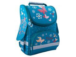 Рюкзак (ранец) школьный каркасный ZiBi ZB16.0102TL Top Zip Teal