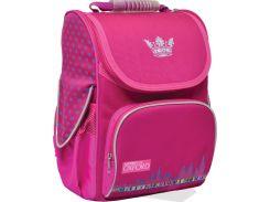 Рюкзак (ранец) 1 Вересня школьный каркасный Yes 552773 Oxford Pink H-11 34*26*14см
