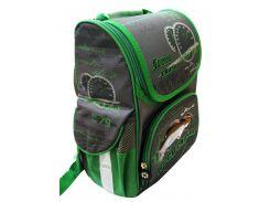 Рюкзак (ранец) школьный каркасный Willy WL-848 Sport Car мягкая спинка 32*25*11см