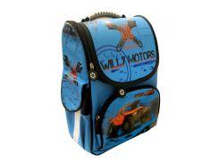 Рюкзак (ранец) школьный каркасный Willy WL-850 Jeep мягкая спинка 32*25*11см