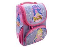 Рюкзак (ранец) школьный каркасный Willy WL-845 Princess мягкая спинка 32*25*11см