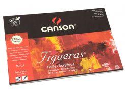 Бумага-склейка для масла Canson Figueras 24*33см 290г/м 10л. CON-200857221R