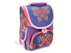 Рюкзак (ранец) школьный каркасный Smile 974771 Абстракция ортопедический 34.5*25,5*13 см
