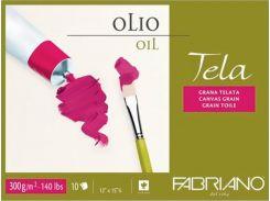 Бумага-склейка Fabriano Tella А4 (24*32см) 10л. 300г/м2 16F5404