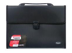 Портфель А4 Axent 3 отд. пластик черный 1601-01-А