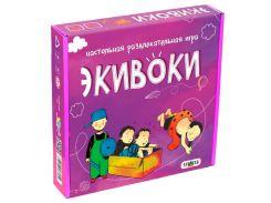 Игра настольная Strateg 12 Экивоки 112 карточки