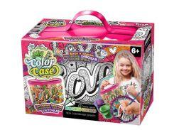 Набор для творчества DankoToys DT COC-01-04 Косметичка - раскраска My Color Case