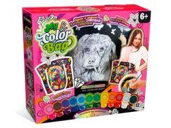 Набор для творчества DankoToys DT COB-01-01 Сумка - раскраска My Color Bag