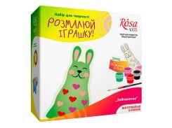 Набор для творчества Rosa Kids Разукрась игрушку, Зайчонок N0003001