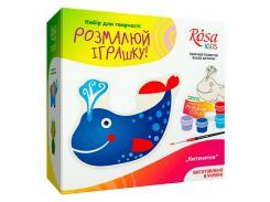 Набор для творчества Rosa Kids Разукрась игрушку, Китенок N0003005