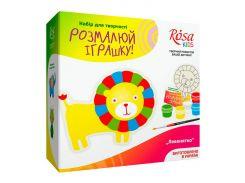 Набор для творчества Rosa Kids Разукрась игрушку, Львенок N0003004