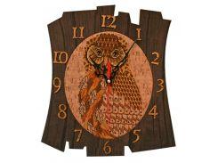 Набор для творчества Nova Sloboda Часы - вышивания бисером и нитками 28*29 см РТ6511 Время мудрости