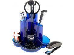 Настольный пластиковый набор Axent Cascade синий 2105-02-А