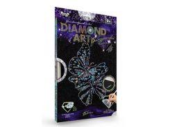 Набор для творчества DankoToys DT DAR-01-04 Diamond Art Картина со стразами Бабочки